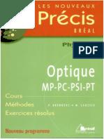 Precis Optique MP-PSI