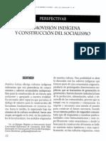 Cosmovision Indigena y Construccion Del Socialimo