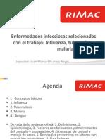 3 Enfermedades Infecciosas Relacionadas Con El Trabajo Tuberculosis Leishmaniasis Malaria Dengue