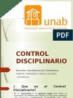 Control Disciplinari