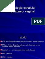 Patologia Canalului Peritoneo-Vaginal
