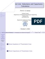 Transmission Line Induct Ance
