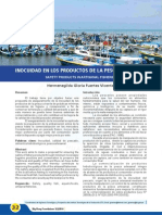 INOCUIDAD EN LOS PRODUCTOS DE LA PESCA ARTESANALd en Los Productos de La Pesca Artesanal