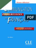 Communication Progressive FR - Débutant-coperta