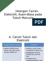 Keseimbangan Cairan, Elektrolit, Asam Dan Basa