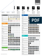 Viera 2014 Comparison Chart