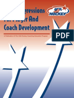 Skill Progressions for Player and Coach Development