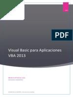 Visual Basic Para Aplicaciones VBA