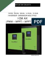 Manual Inversor MasterPower Omega Pwm Mppt
