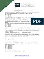 Adm. Financiera - Ejercicios de Evaluacion de Proyectos