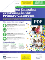 Delivering Engaging Primary Computing