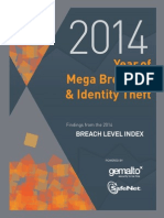 Breach Level Index Annual Report 2014