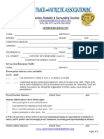 ctaa inc  registration form