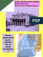 La Evolucion Del Teatro Rioplatense en el siglo XIX