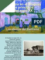 El Teatro en Uruguay a Principios del siglo XX