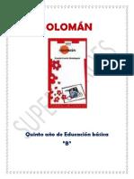 Analisis literario de Soloman