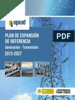 Resumen Plan Expansion Referencia 2013 2027 (RESUMEN)