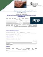 Programa de Treino Motor e Cardio-Inscrição
