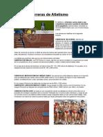 Tipos de Carreras de Atletismo