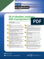 TIC education Francais