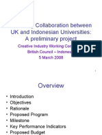 Collaboration UK & Indonesia Universities