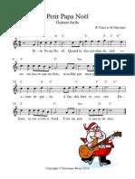 Petit Papa Noël Guitare