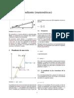 Pendiente (Matemáticas)