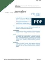 XP ENV 13670-1 Exécution Des Ouvrages en Béton