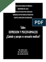 Depresion y Psicofármacos