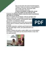 El Sueño Del Forastero El Nuevo Libro Del Escritor Fernando Aparicio