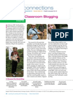 hooked on classroom blogging
