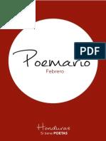 Honduras sí tiene poetas, poemario febrero