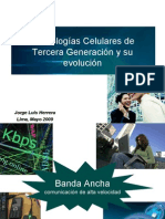 Tecnolog as Celulares de Tercera Generaci n y Su Evoluci n