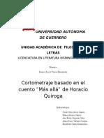 Cortometraje de Mas Alla