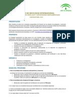 Bases Movilidad Universidades Andaluzas 2015