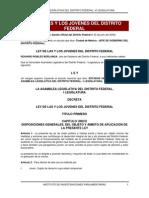 Ley de Las y Los Jovenes del Distrito Federal