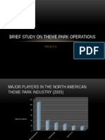 Brief Study on Theme Park Operations