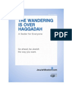 The Wandering is Over Haggadah (Second Edition)