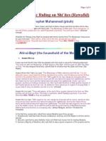 Islamic Rulings on Shi'a