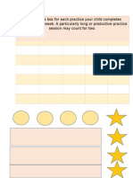 Tick Chart resource for teaching