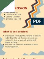 Geography Erosion Presentation