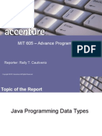 Java Report