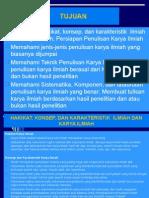 Slide - Penulisan karya ilmiah utk Pelatihan di Gedung Pramuka.ppt