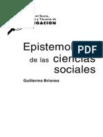 Epistemologia de Las Ciencias Sociales (1)