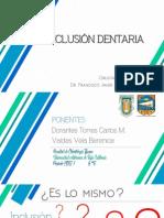 Inclusion Dentaria - Cirugia Bucal