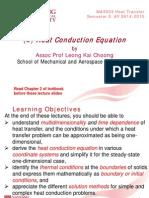 (2) Heat Conduction Equation S2 2014-2015