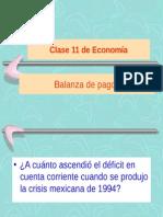 Clase 11 Balanza de Pagos
