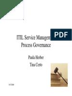OEP Process Governance