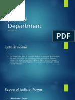 Philippine Judicial Department