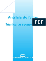 Analisis de Fallos Tecnica de Esqueleticos Dentaurum
